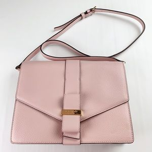 Kate Spade | Leather Crossbody Shoulder Bag Pink